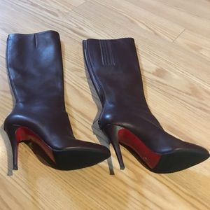 CHRISTIAN LOUBOUTIN Knee-High Boots 9.5/IT 39.5
